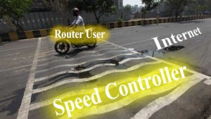 control internet speed